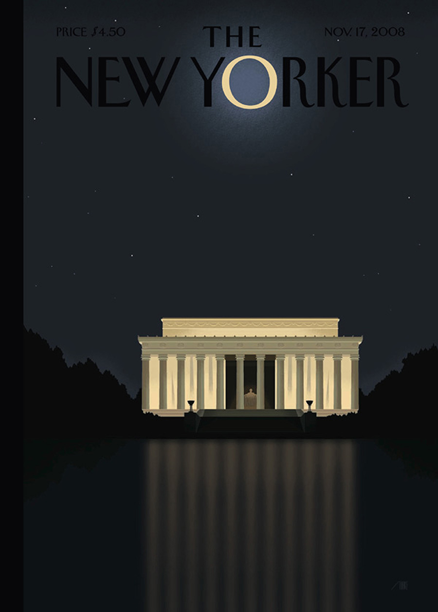 Bob Staake New Yorker Obama