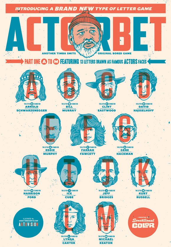 Actorbet Screenprint