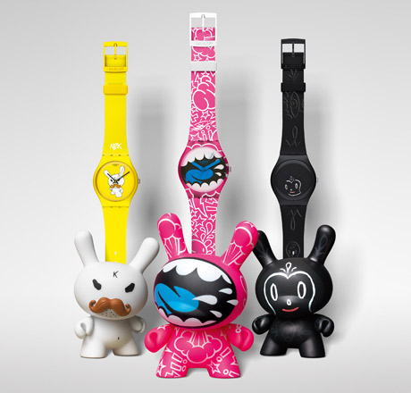 Kidrobot swatch watches