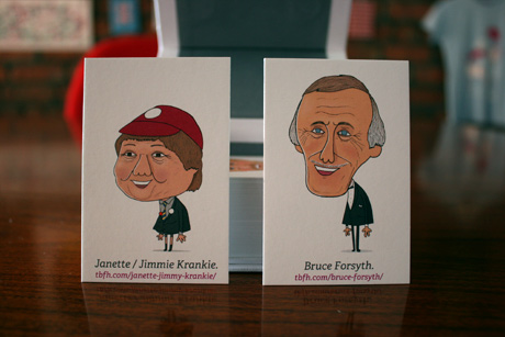 TBFH cards printed by Moo