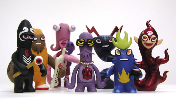 Monsterism Island Volume 1 toys by Pete Fowler