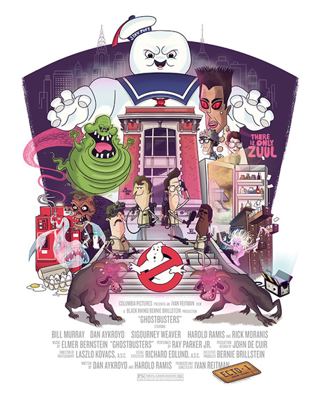 Chris Lee Ghostbusters