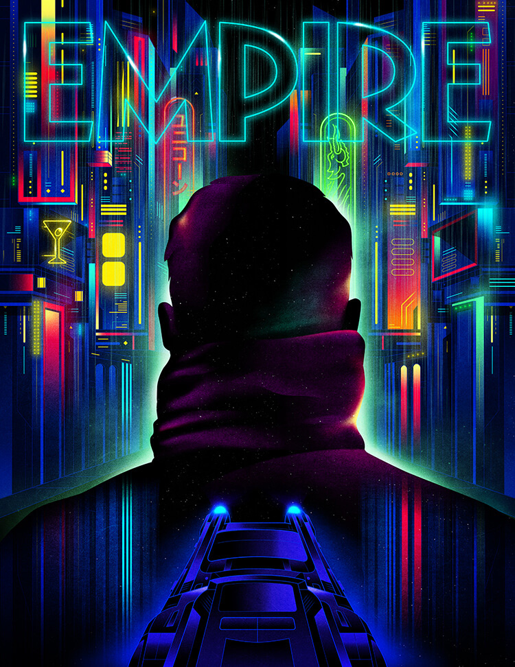 Empire Magazine Blade Runner 2049 cover