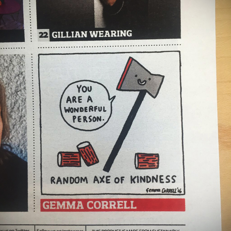 Gemma Correll The Observer Magazine