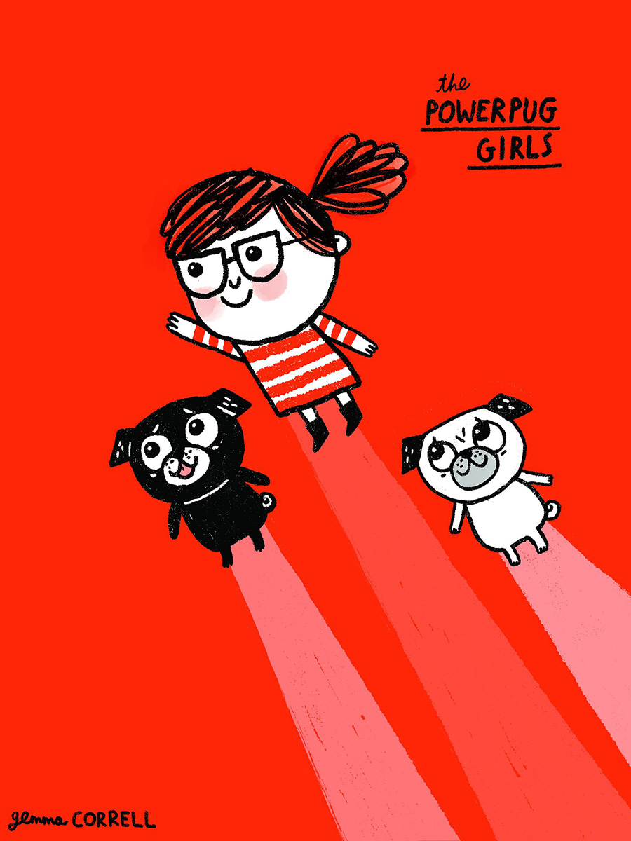 Gemma Correll Powerpugs
