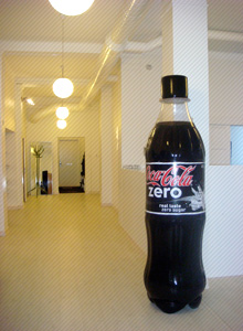 Mikael Forsgren Coke Zero Bottle
