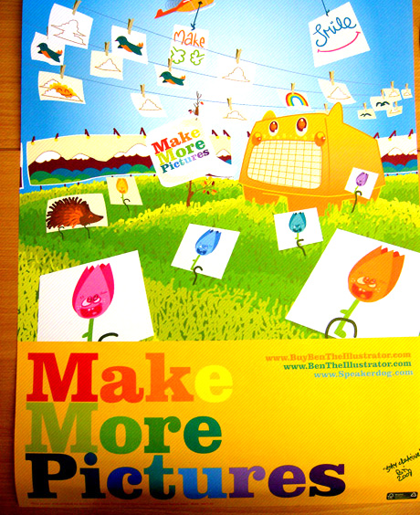 Make More Pictures print