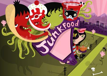 Junk Food Ad