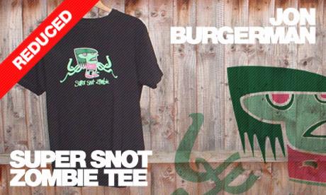 Jon Burgerman Snot Zombie Tee