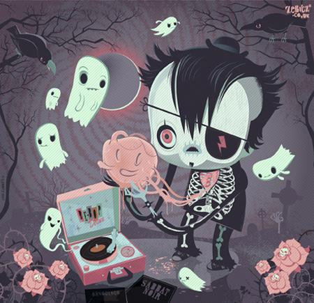Christian Zebitz Spooky Calendar
