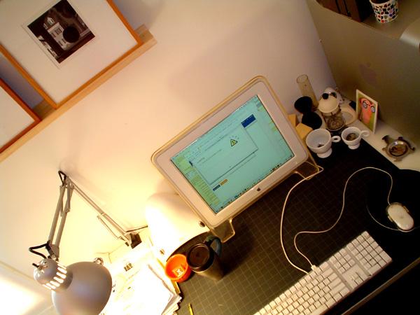 Bob Staake desk