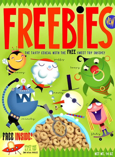 Bob Staake Freebies