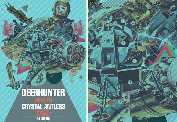 Deerhunter-GigPoster