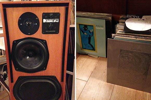 KEF104aB speakers