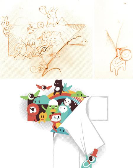 Budi Kwan winning tee design