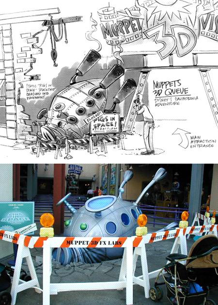 Muppets 4D entrance