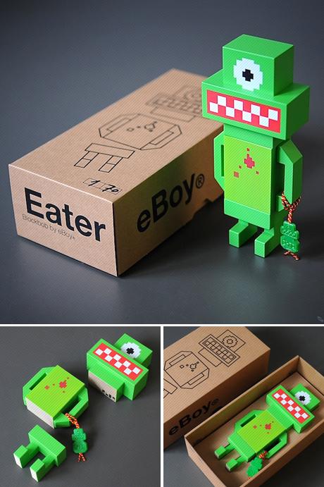 eBoy Blockbob Eater