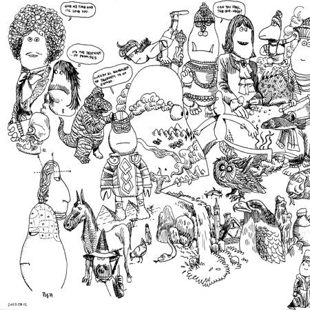 James Jarvis - Drawings