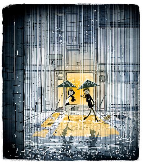 Pascal Campion rain