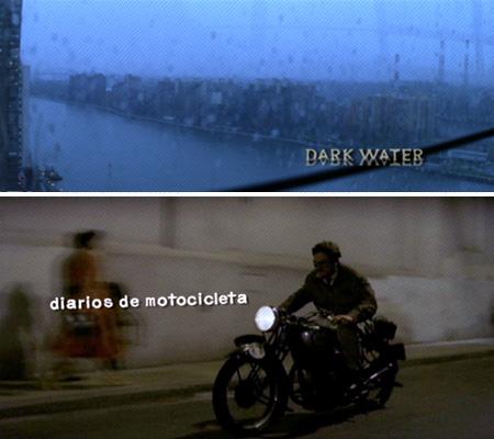 Susan Bradley Dark Water and Motorcycle Diary titles